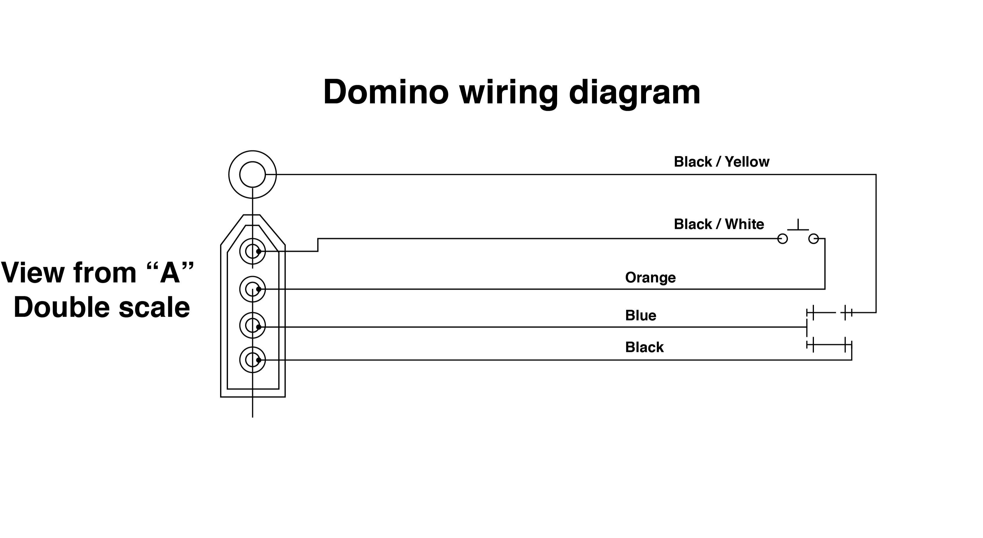 [DIAGRAM_4PO]  Wiring help please - Domino start/kill switch | Honda CBR 600RR Forum | Switch Wire Diagram |  | 600RR.net