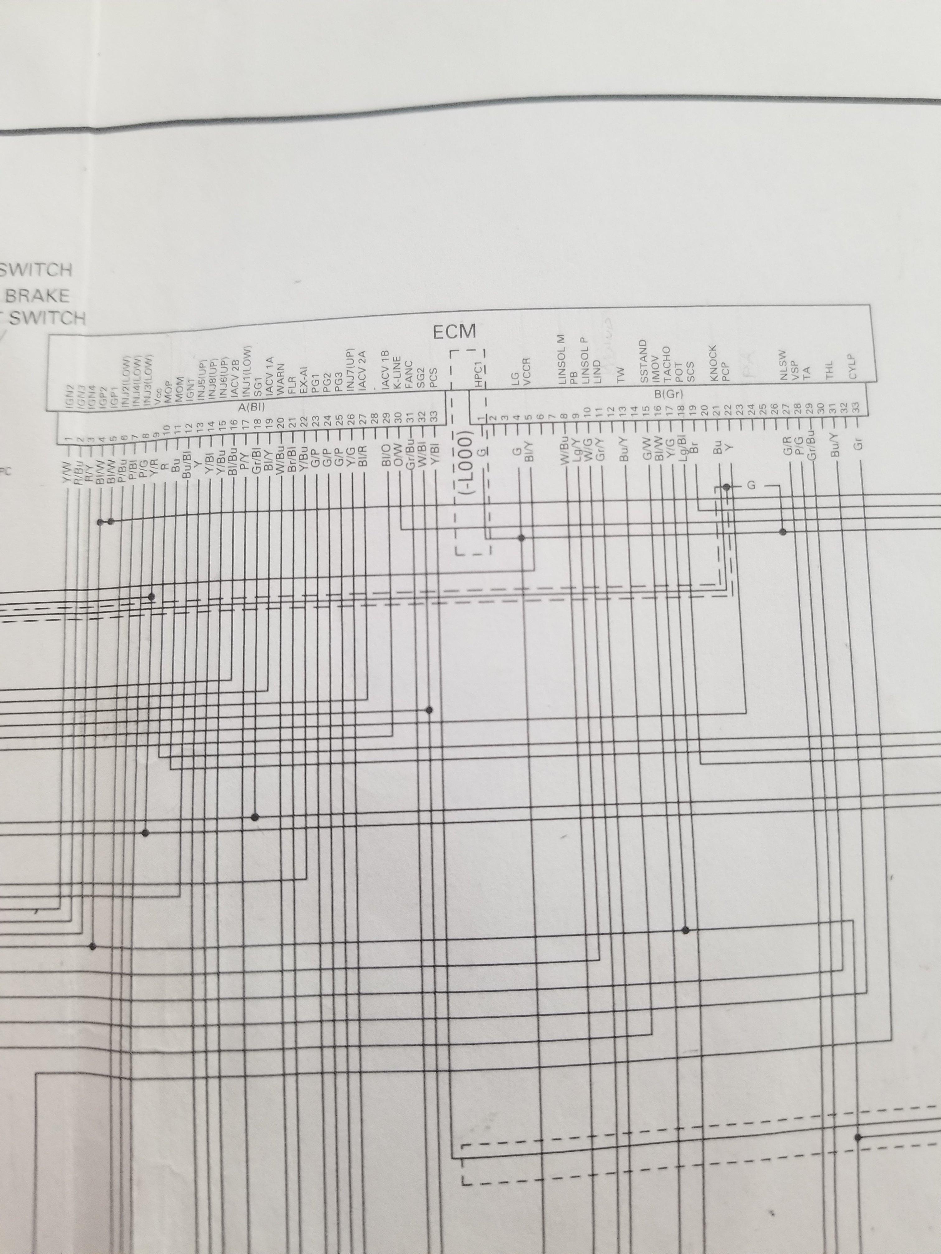 07 Wire Diagram Honda Cbr 600rr Forum