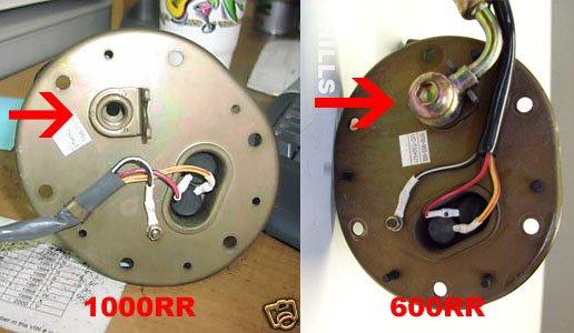 Does 1000rr 04 07 Fuel Pump Fit 600rr 03 06 600rr Net