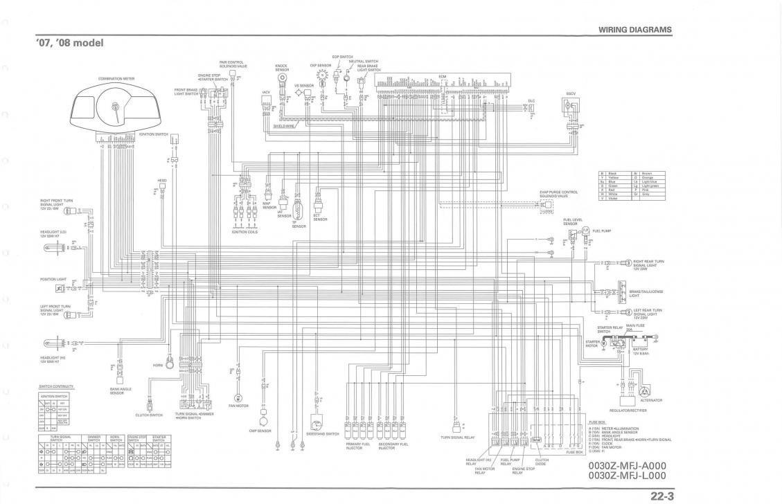 [DIAGRAM] 2005 Cbr 600 Rr Color Wiring Diagram FULL
