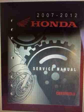 2007 2012 Cbr600rr Original Service Repair Manual 600rr Net