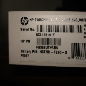 Hp Touch Pad 1.2ghz , 32g , Wifi , Smrtby