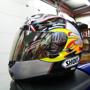 Shoei X-11 Bostrom Side