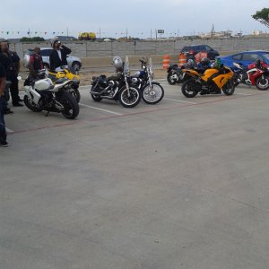 Bike Night In Bedford Texas