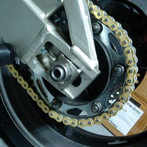 Rick's 1000rr new sprockets.